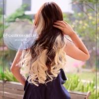 Hairclip Blonde Putih
