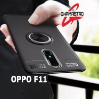 Case Oppo F11 Auto Focus Ring Kickstand Premium Softcase