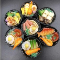 Tempelan Magnet Kulkas Bentuk Replika Makanan Ramen Jepang - Souvenir