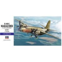 pesawat B-26 B/C Marauder 1/72 hasegawa model kit
