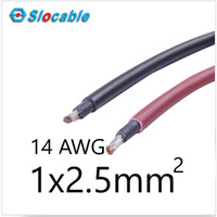 Slocable PV-1F Solar Panel Cable Kabel Panel Surya 2.5mm2 14 AWG