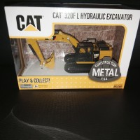Miniatur Diecast Alat Berat CAT 320F L Hydraulic Excavator
