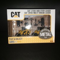 Miniatur Diecast Alat Berat CAT 272D2 & CAT 297D2 Loader