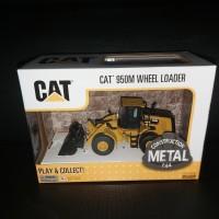 Miniatur Diecast Alat Berat CAT 950M Wheel Loader
