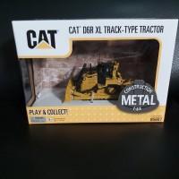 Miniatur Diecast Alat Berat CAT 6DR XL Track-Type Tractor