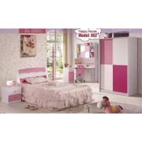 kamar set anak,pink