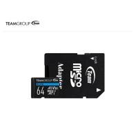 TEAMGROUP Memory Card MicroSD ELITE A1 U3 UHS-1 64GB + Adapter