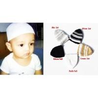 Peci Bayi 1-3 Tahun Kopiah Baby Peci Anak