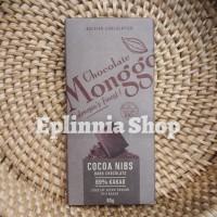Chocolate Monggo Cocoa Nibs 69% Kakao 80 gr - Cokelat Hitam Biji Kakao