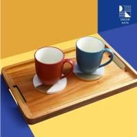 Irvina Wooden Tray / Tatakan Kayu / Nampan Kayu / Wooden Tray