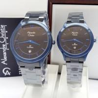 jam tangan couple Alexandre christie original AC 8624 CP