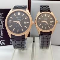 jam tangan couple Alexandre christie original AC 8621 CP