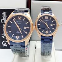 jam tangan couple Alexandre christie original AC 8583