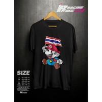 ( HOT ITEM ) Kaos T-shirt Baju Mario Bros Thailand Kualitas Distro