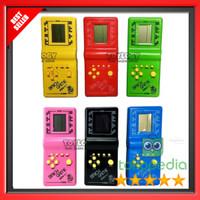 GAMEBOY Mainan Game Jadul Tetris Balok Mini Gimbot Brick Game