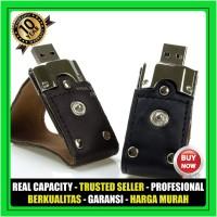 USB Flashdisk Kulit POLICE CLIP FDLT24 Souvenir Promosi GARANSI 10 THN