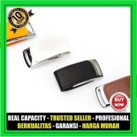 USB Flashdisk Kulit FLIP MAGNET FDLT21 Custom - GARANSI 10 THN