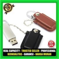 USB Flashdisk Kulit Rantai FDLT03 Souvenir Promosi GARANSI 10 THN