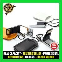 USB Flashdisk Kulit POUCH FDLT28 Souvenir Promosi GARANSI 10 THN