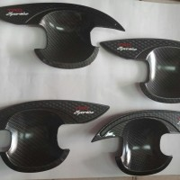 paket cover outer dan cover door handle sigra trd carbon
