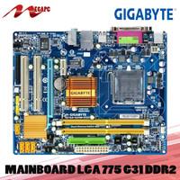 Motherboard LGA 775 G31 DDR2 Asus Gigabyte