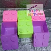 kotak makan lego anak/kotak makan souvenir/lunch box murah
