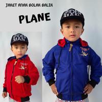Jaket Anak Plane Parasut Bolak Balik