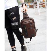 Sling bag Pria / tas selempang cowok Import Ori Terbaru MB0793