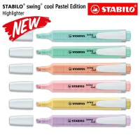 STABILO SET 6 - Swing Cool Pastel Edition / Highlighter 6 pcs / Pen an