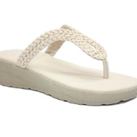 Color Option Flat Sandals Wanita