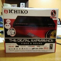 DVD Player Ichiko - DVD / USB Movie (Divx & Srt Support) / Karaoke Fun