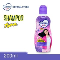 Cussons Kids Shampoo Naura Black & Shiny 200ml