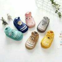 babyfit PATTERN MOCCASINS Sepatu Bayi Prewalker Kaos Kaki Anak Import