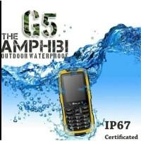 Best Handphone Gplus-G5-The Amphibi Outdoor Waterproof IP67-Dual Sim