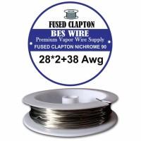 NI 90 Fused Clapton 28*2+38 g | 1 Meter