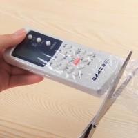 Plastik Remote Sarung Cover Melekat Dengan Hair Dryer Isi 5