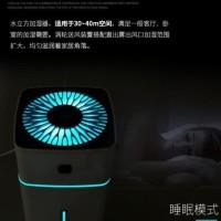 Pelembab Udara Air Humidifier Aromatherapi Rgb Led Light 1000Ml-White