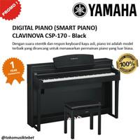 YAMAHA PIANO CLAVINOVA CSP170 CSP 170 BLACK GARANSI RESMI 1 TAHUN