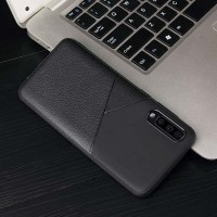 Case Samsung A50S soft classic executive leather style casing