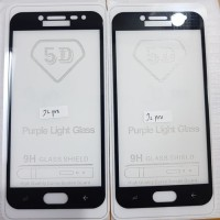 Samsung A5 2016 Tempered Glass Anti Gores Kaca Full Screen Full Lem