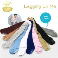 LEGGING BAYI POLOS WARNA LIL ME LITTLE ME 0 6M 6 12M - 0-3 Bulan, Brown