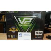 GAMEMAX PSU VP700 RGB - 700 Watt 80+ EffIciency 80 PLUS 12cm Fan RGB