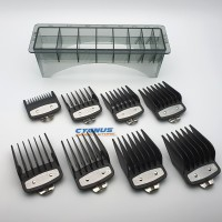 Sepatu WAHL / Attachment Comb WAHL Metal Clip isi 8 Hitam
