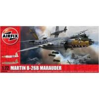 pesawat Martin B-26 B Marauder 1/72 model kit airfix