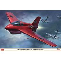 pesawat Messerschmitt Me163B Komet Ekdo 16 1/32 hasegawa model kit