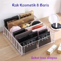 Large Compact Holder Acrylic Kosmetik Organizer Rak Makeup RO016