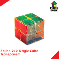 Rubik Zcube 2x2 Magic Cube Transparent / CS08TR / Speed Cube