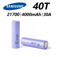 Battery SAMSUNG 21700 40T - 4000mah 30A - Authentic