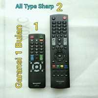 Remot Remote TV Sharp Original LED LCD Tabung Asli Ori