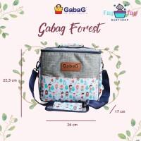 GabaG Cooler Bag (pendingin ASI) Forest Free Ice Gel 2pcs / Tas Gabag